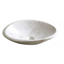 Sapho Blok 16 2401-22 márvány, csiszolt kőmosdó 58x14x38 cm