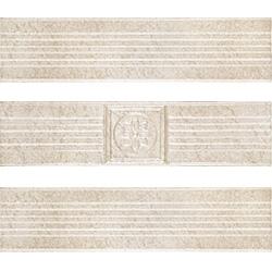 Zalakerámia Travertino RAVENNA SZ-106 dekorcsík 25 x 6 cm