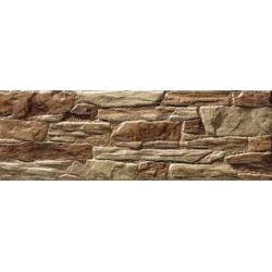 Mijares Esparta Ocre falburkolat 15 x 45 cm