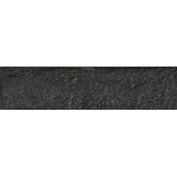 Rondine New York Black J85676 gres homlokzati burkolat 6x25 cm