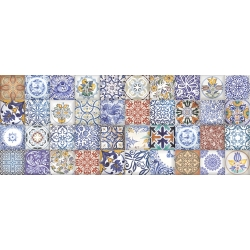 Zalakerámia Carneval ZBD 53058 dekorcsempe 20x50 cm